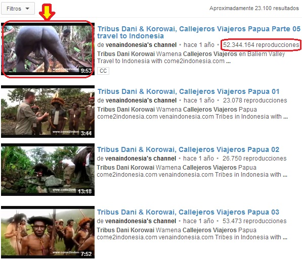 milioni di visite su youtube