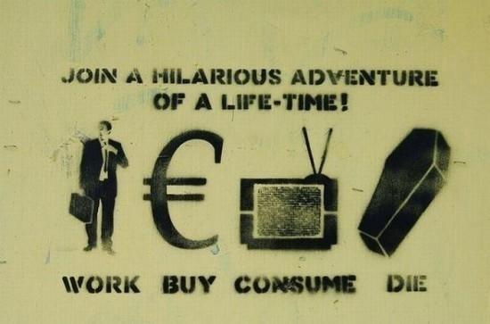 Il ciclo della vita secondo il capitalismo