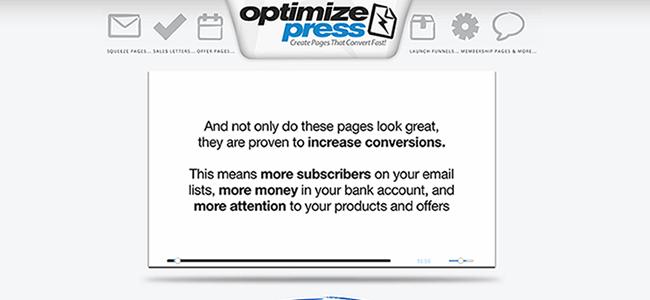 optimize press