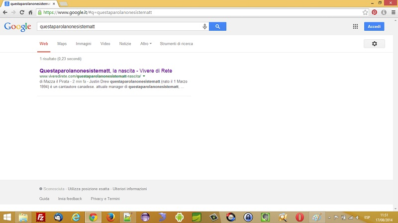 Google non capisce una Mazza di quello che stiamo scrivendo