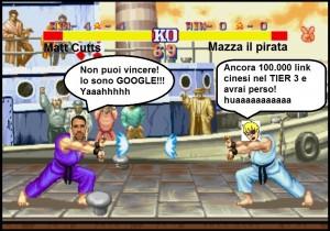 Mazza vs Matt Cutts