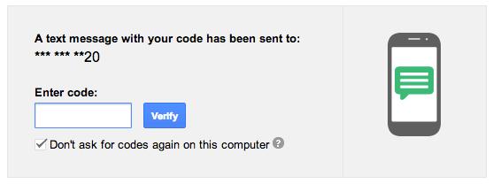 Verificazione gmail per telefono