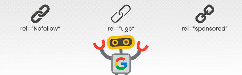 google ugc sponsored nofollow